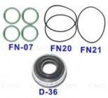 N-36 - Tömítéskészlet Denso 10PA30C Klímakompresszorhoz