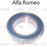 U119 - Görgőscsapágy Klímakompresszorhoz - 35x55x22mm - Alfa Romeo