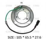 PK-01 (12V) - Behúzó Mágnestekercs 105*65.5*27.6mm - DKS 15C/ 17C - Klímakompresszorhoz DENSO