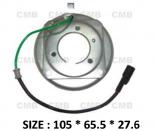 PK-01 (24V) - Behúzó Mágnestekercs 105*65.5*27.6mm - DKS 15C/ 17C - Klímakompresszorhoz