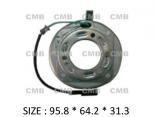 PK-03 (24V) - Behúzó Mágnestekercs 95.8*64.2*31.3mm - Mitsubishi Express WA L400 - DKS15CH / 15D - Klímakompresszorhoz