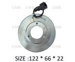 PK-06 (12V) - Behúzó Mágnestekercs 122*66*22mm - NISSAN - DKS17D - Klímakompresszorhoz
