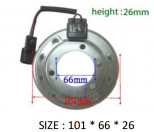 PK-07 (12V) - Behúzó Mágnestekercs 101*66*26mm - NISSAN - Klímakompresszorhoz
