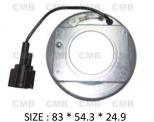 PK-08 (12V) - Behúzó Mágnestekercs 83*54.3*24.9mm - NISSAN -  DKV08R - Klímakompresszorhoz