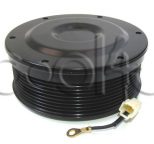 11115044 - Mágneskuplung készlet, Klímakompresszorhoz, DENSO 10PA PV9 24V 130MM